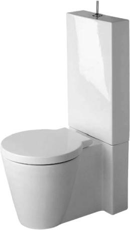 duravit starck 1 toaletter gulvst ende toalett 023309. Black Bedroom Furniture Sets. Home Design Ideas
